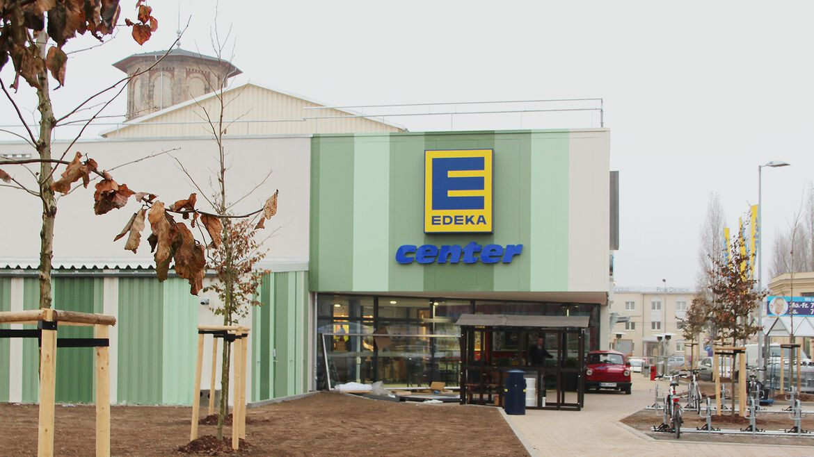 EDEKA Center in Halle